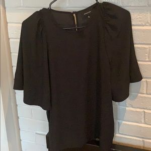 Black top elbow sleeves  small size